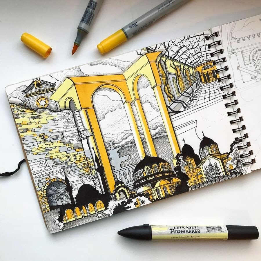 04-Yuliia-Zvetkova-Architectural-Drawings-www-designstack-co