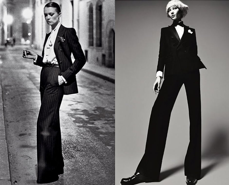 b44eda51789 INTO THE FASHION: INSPIRATION YVES SAINT LAURENT 1975... DSquared AD ...