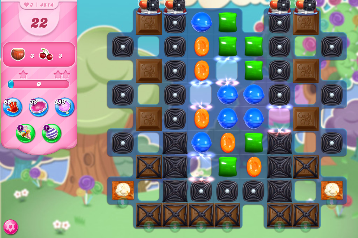 Candy Crush Saga level 4814