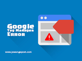 """Solusi Google Tag Manager Error( The reference to entity """"l"""" must end with the ';' delimiter )"""