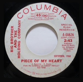 Piece Of My Heart - Big Brother And The Holding Company (vocals by Janis Joplin)