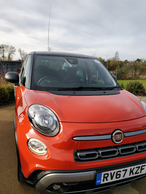 Fiat 500L - family sized car