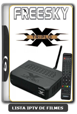 Freesky Triplo X Nova Atualização Melhorias no SKS V1.09.21896 - 19-06-2020