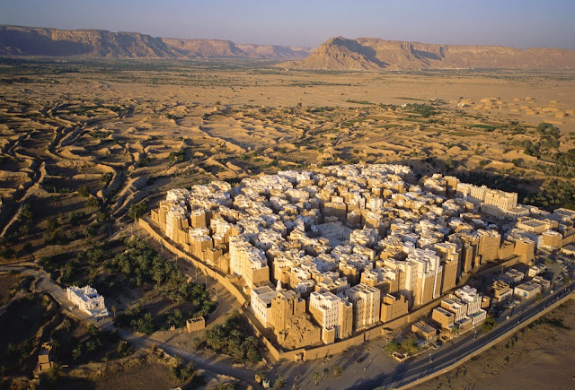 العالم - مدينة شبام في اليمن : أرض أقدم ناطحات السحاب في العالم GS-07