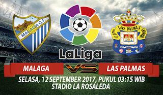 Prediksi Malaga vs Las Palmas 12 September 2017