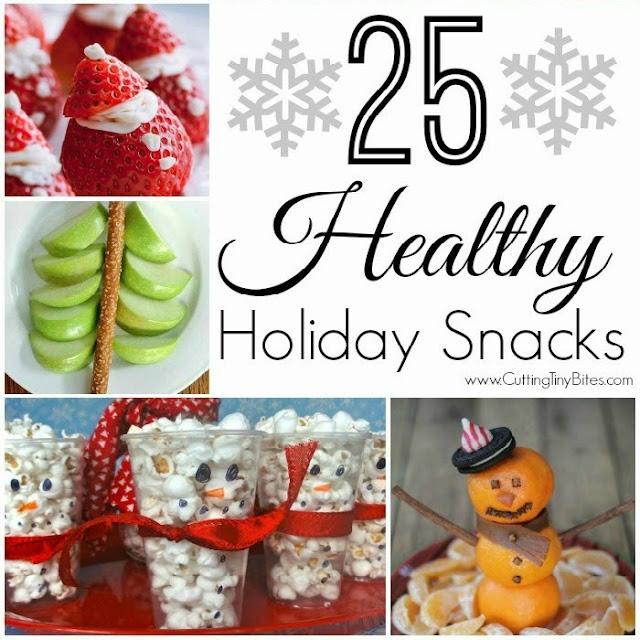 25 Healthy Holiday Snacks. Choices for Christmas, Hanukkah, and winter. Avoid the holiday sugar rush!