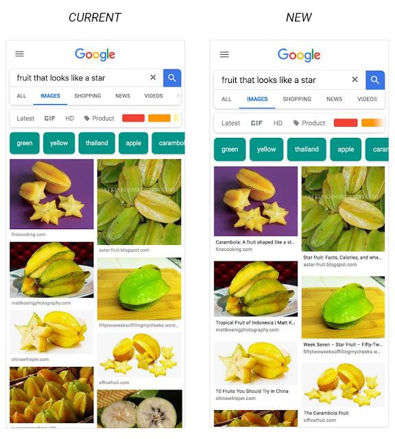 Mise a jour Google - Déploiement des légendes dans google image