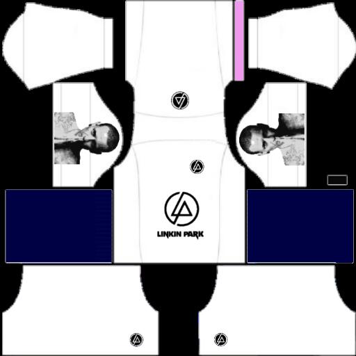 Testing Logo And Kit Dls19 Linkin Park White Kit For Dream