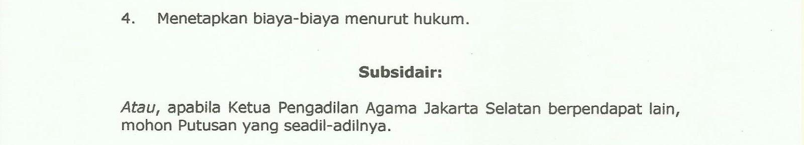 Hukum Indonesia: Cara Membuat Surat Gugatan Perceraian ...