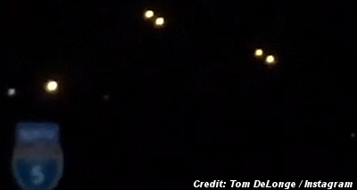 UFOs Caught on Video, Over San Diego by Musician Tom DeLonge 8-25-14