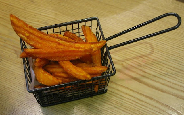 Pepper Lunch, Hawthorn - sweet potato chips