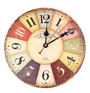 Reloj Vintage de pared
