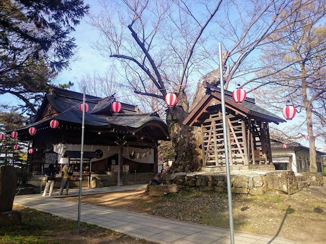 川中島古戦場 八幡神社