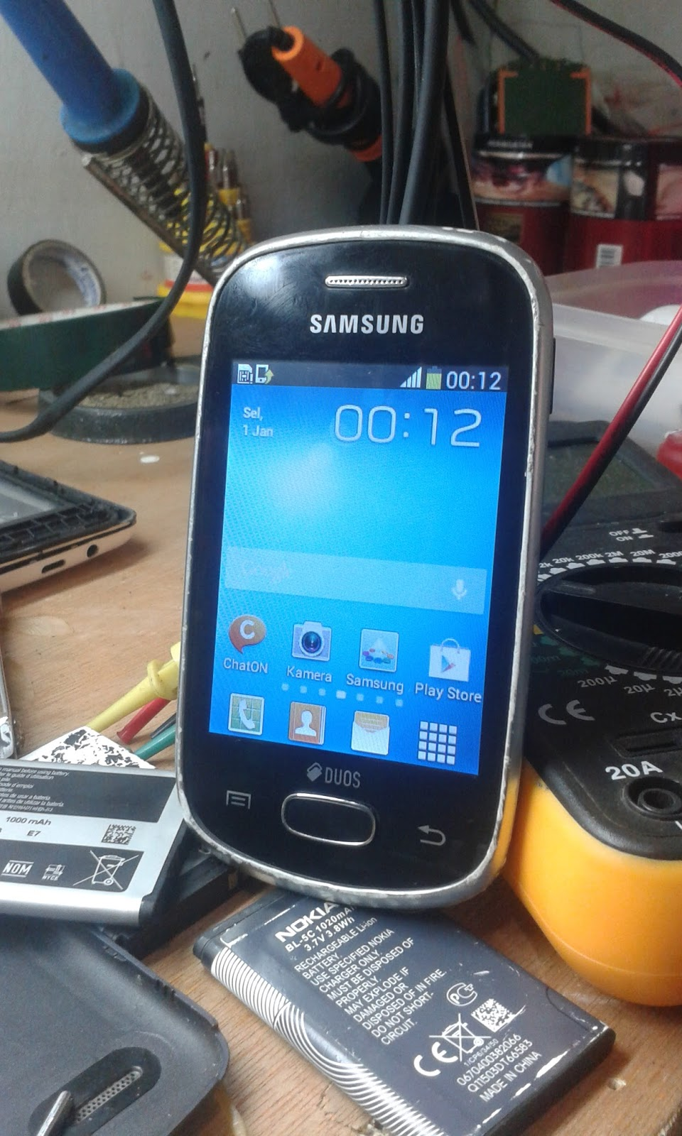 Ndhe Palon Solusi Samsung Star S5280 S5282 Konslet Atau Mati Total