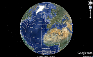 FAO statistical areas in Google Earth