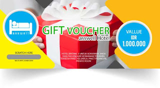Cetak Voucher Gift Hotel