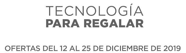 Top 15 Ofertas del 12 al 25 de diciembre. Tecnología para regalar de El Corte Inglés