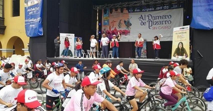 MINEDU celebra 13 años de la Educación Básica Alternativa con una bicicleteada - www.minedu.gob.pe