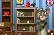 Talking Tom clean room