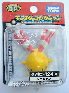 Chingling Pokemon figure Tomy Monster Collection MC series