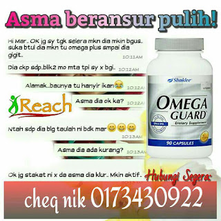 omega untuk sakit lelah