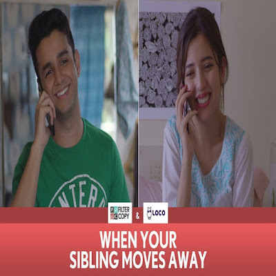 When Your Sibling Moves Away (Rakhi Special) Funny Video 2018 Ritvik Sahore and Barkha Singh FilterCopy