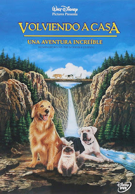 Homeward Bound The Incredible Journey 1993 DVDR NTSC Latino