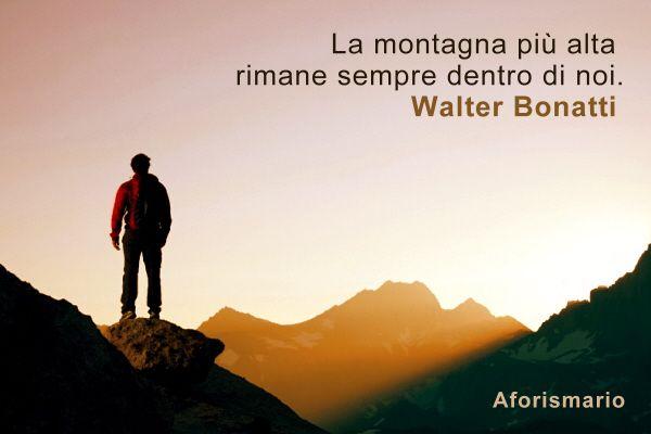 Popolare Aforismario®: Montagna - Aforismi, frasi e proverbi YR23