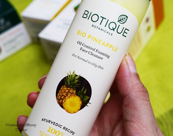 biotique face cleanser review