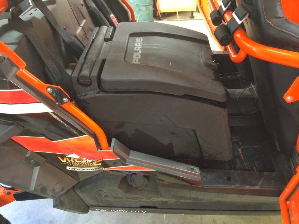 Rear Seat Replacement Storage Box Polaris Rzr Forum