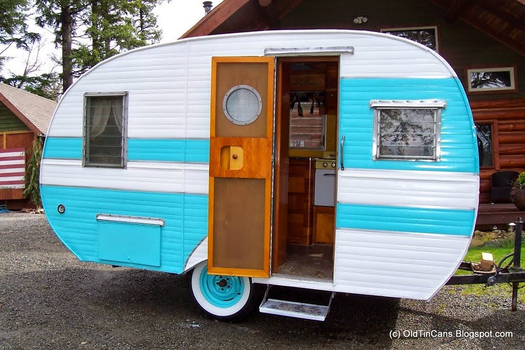 Vintage Travel Trailers: February 2009