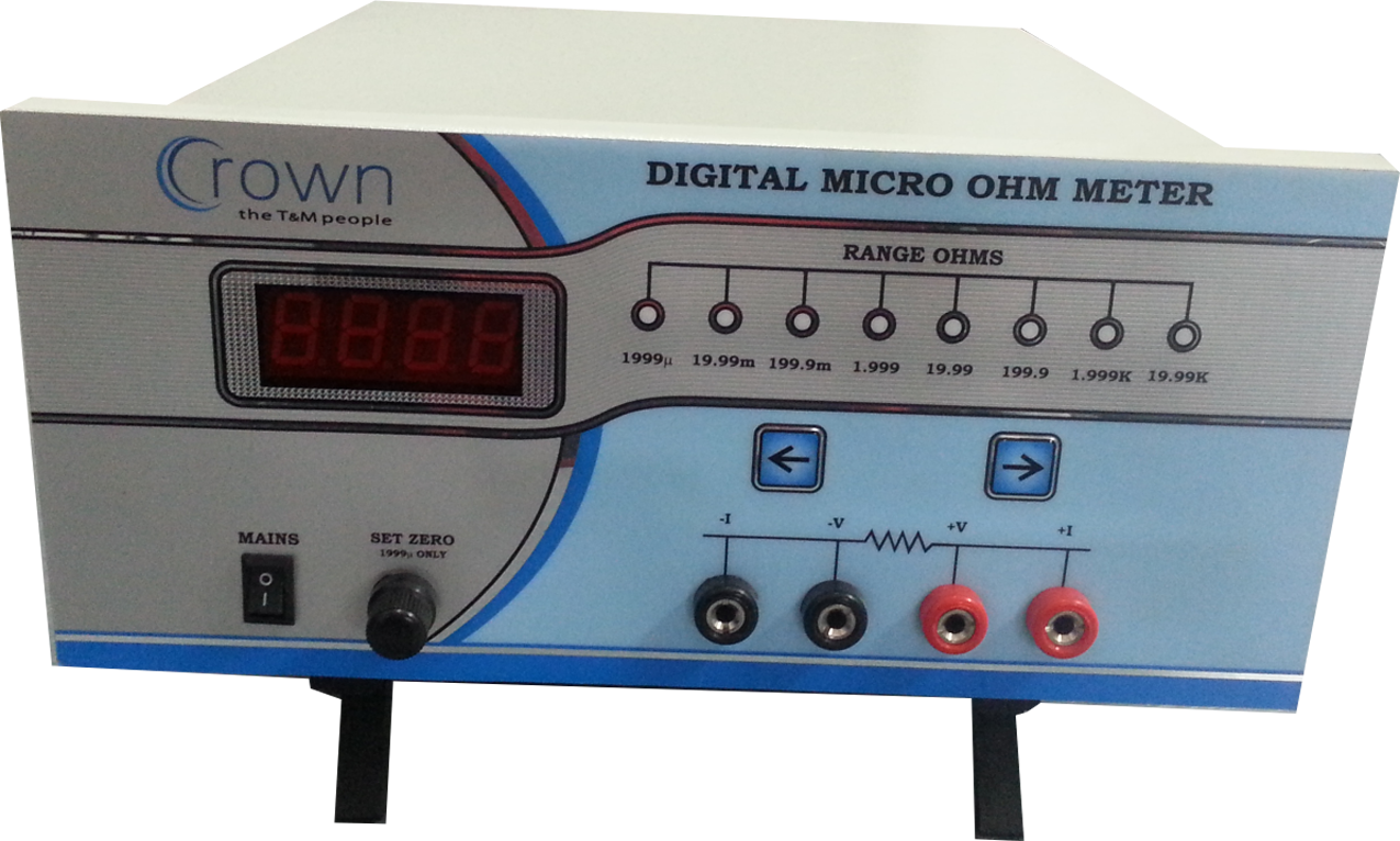 Ohmmeter Good Measurements And A High Low : June crown electronic systems