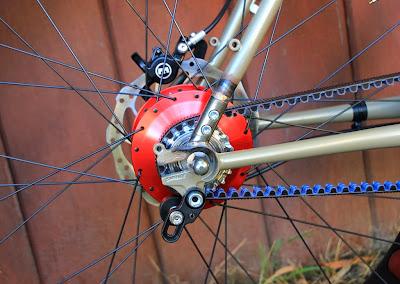 The Monkey Lab Surly Moonlander Fat Bike With Rohloff