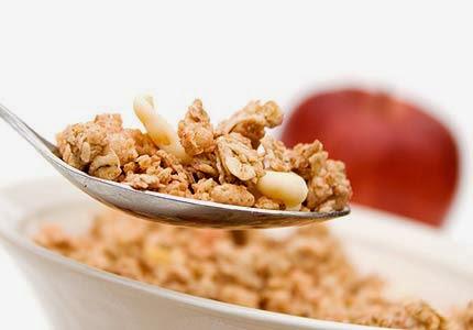 Fibras y cereales para bajar colesterol