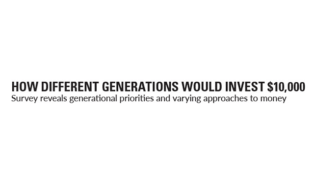 How Different Generations Would Invest $10,000