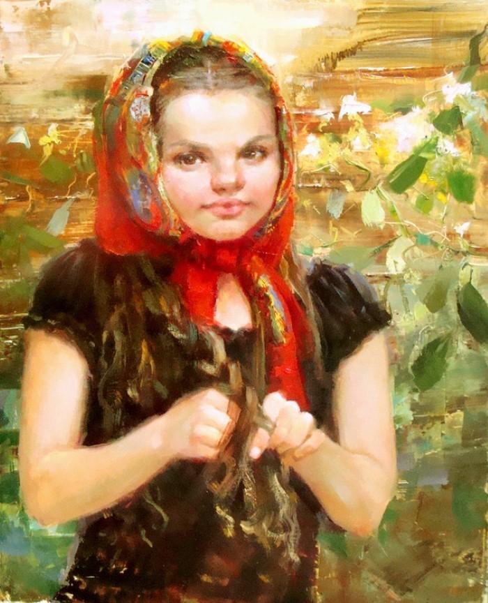 Украинская художница. Tatiana Yanovskaya-Sink