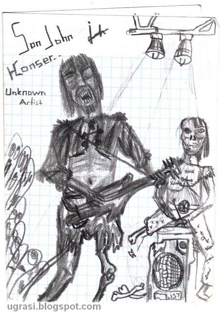 john stepforn rock metal efsane gitar gitarı müzik star çizim grafik karakalem karikatür metalci kahraman ugrasi blog