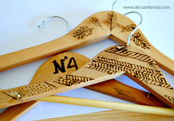 Pirograbado sobre madera | DIY