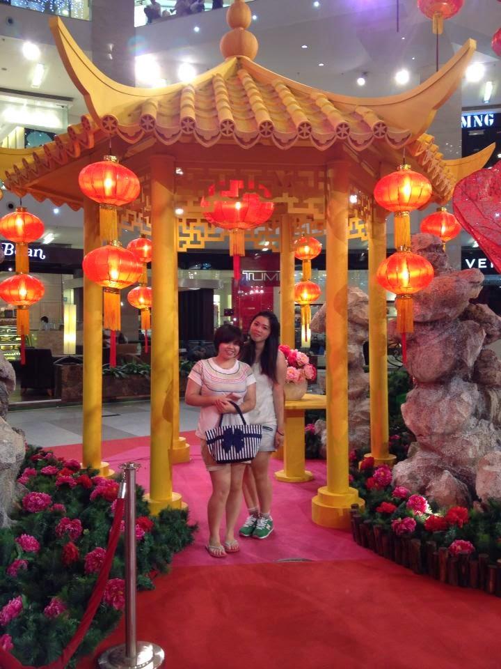 STID 1103: Chinese New Year Decor at KL Shopping Mall
