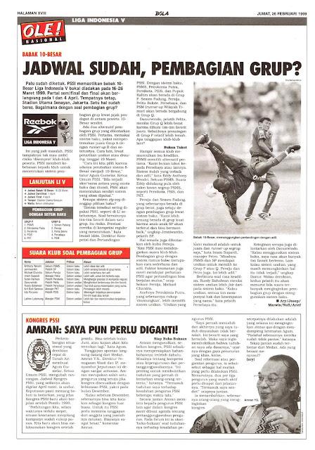 LIGA INDONESIA V BABAK 10-BESAR