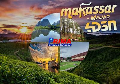 paket tour makassar 4 day 3 night