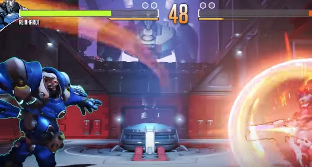 Imaginan cómo sería Overwatch en el género de lucha