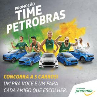 Cadastrar Promoção Time Petrobras 2016