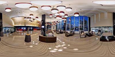 Hotel Santika Dyandra Medan dalam aplikasi 360 VR