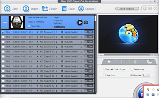Dvd Ripper with a DVD in