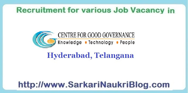 Naukri Vacancy Recruitment Centre-for-Good-Governance