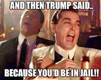 donald trump meme youd be in jail