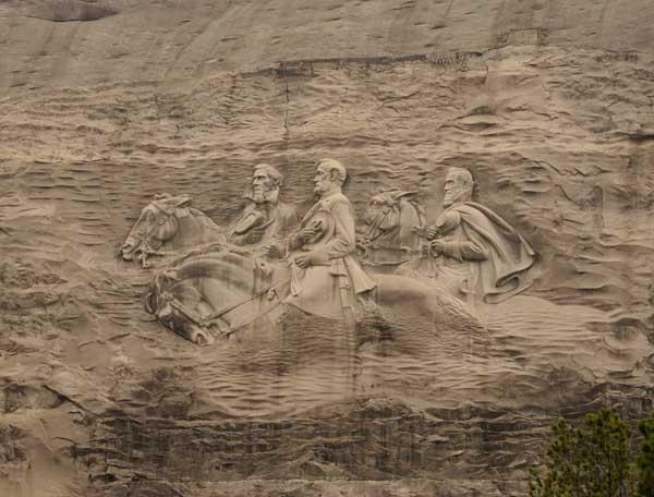 The intrepid tourist stone mountain georgia mount