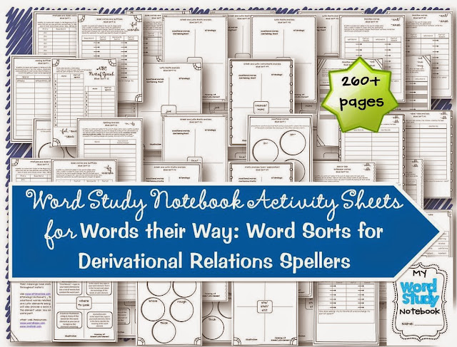 Extend the learning for your higher, gifted spellers with the Derivational Relations Spellers notebooking and extension activities. These are a great modification to your word study routine and activities that allow you to differentiate for your 4th, 5th, and 6th grade spellers.