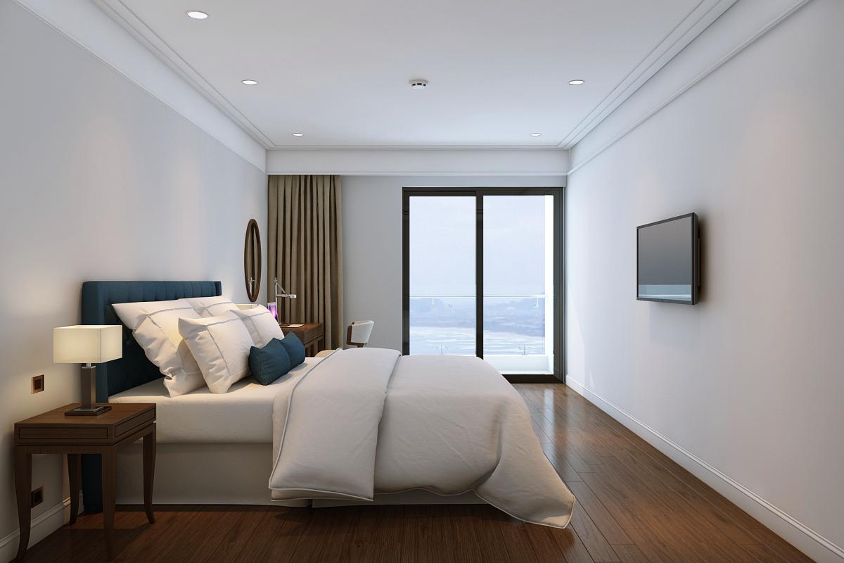Phòng ngủ dự án Luxury Apartment Alphanam
